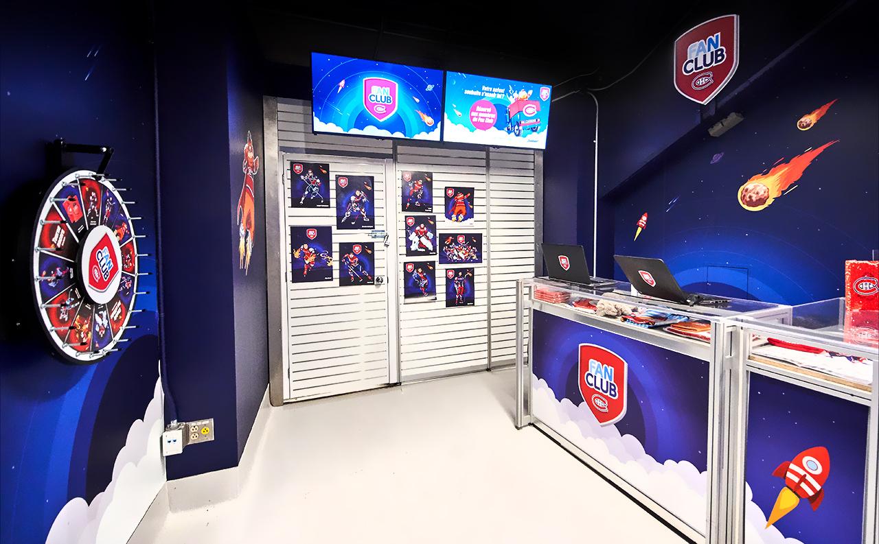 Kiosque du Fan Club